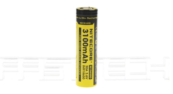 Authentic Nitecore IMR 18650 3.6V 3100mAh Rechargeable Li-Ion Battery
