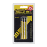 Authentic Nitecore NL1826 18650 2600mAh 3.7V Rechargeable Li-Ion Battery