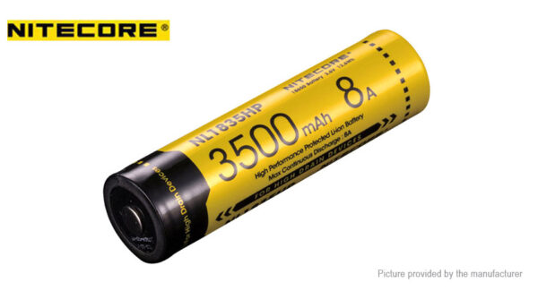 Authentic Nitecore NL1835HP 18650 3.6V 3500mAh Rechargeable Li-ion Battery