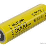 Authentic Nitecore NL2150HPi 21700 3.6V 5000mAh Rechargeable Li-ion Battery
