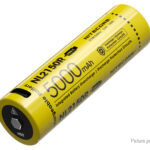 Authentic Nitecore NL2150R 21700 3.6V 5000mAh Rechargeable Li-ion Battery