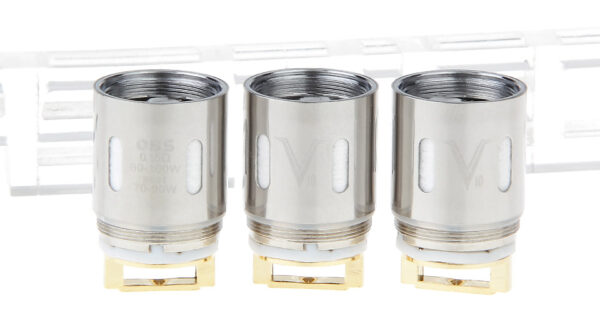 Authentic OBS V Clearomizer Replacement V10 Coil Head (3-Pack)