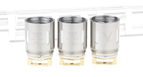 Authentic OBS V Clearomizer Replacement V8 Coil Head (3-Pack)