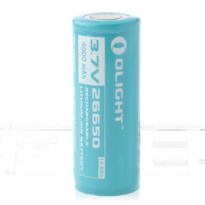 Authentic OLIGHT ORB-266P40 26650 3.7V 4500mAh Rechargeable Li-ion Battery