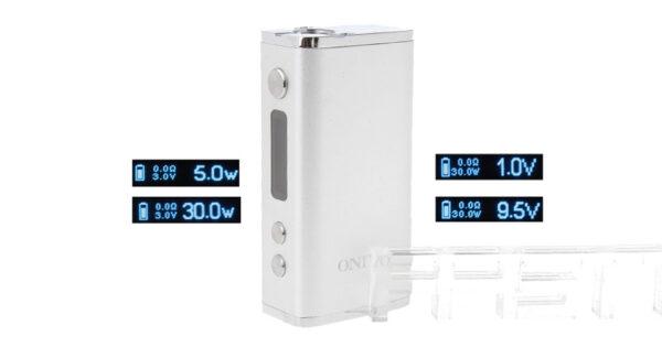 Authentic ONIYO Mini 30W VV/VW Variable Voltage/Wattage APV Box Mod