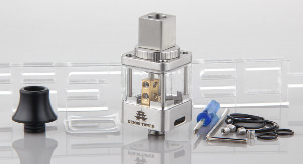 Authentic OUMIER Demon Tower RDA Rebuildable Dripping Atomizer