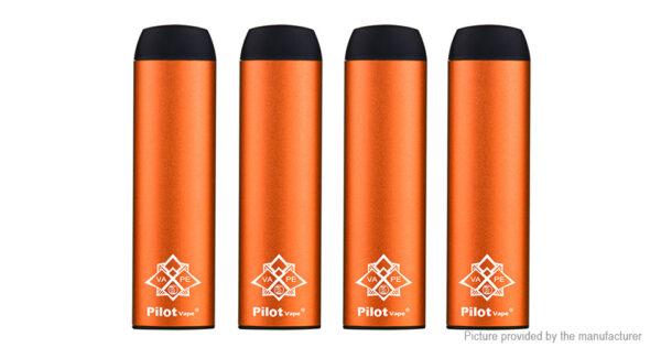 Authentic PilotVape 550mAh Disposable E-Cigarette (4-Pack)
