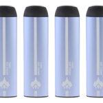 Authentic PilotVape 550mAh Disposable E-Cigarettes (4-Pack)