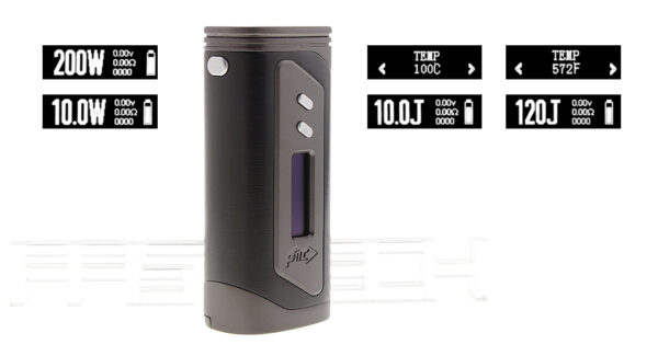 Authentic Pioneer4You iPV 6X 200W TC VW APV Box Mod