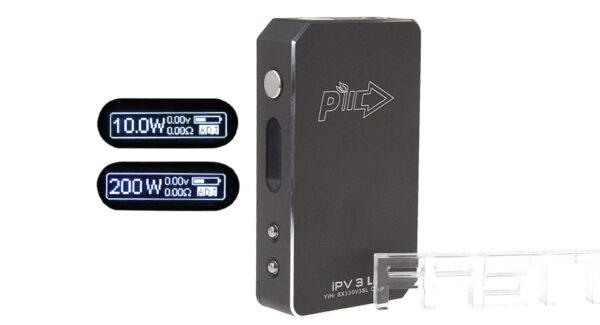 Authentic Pioneer4You iPV3 Li 165W Temperature Control Variable Wattage APV Box Mod