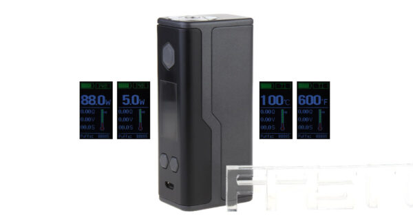 Authentic SBody Lancer 88W TC VW APV Box Mod