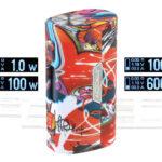 Authentic SBody Orca Mini 100W TC VW APV Box Mod