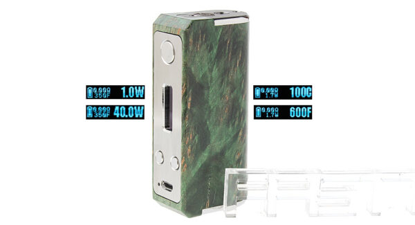 Authentic SXK Ares 40W TC VW APV Box Mod
