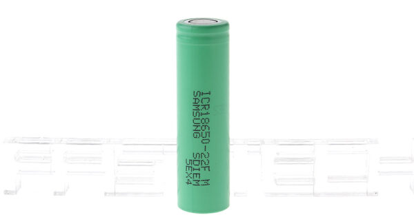 Authentic Samsung ICR 18650-22F 3.7V 2200mAh Rechargeable Li-ion Batteries