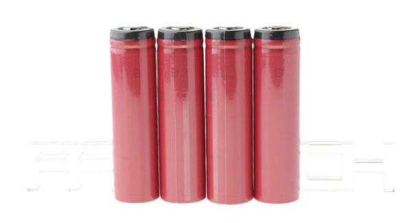 Authentic Sanyo 18650 3.6V 3400mAh Rechargeable Li-ion Batteries (4-Pack)
