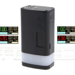 Authentic Sigelei Fuchai GLO 230W TC VW APV Box Mod