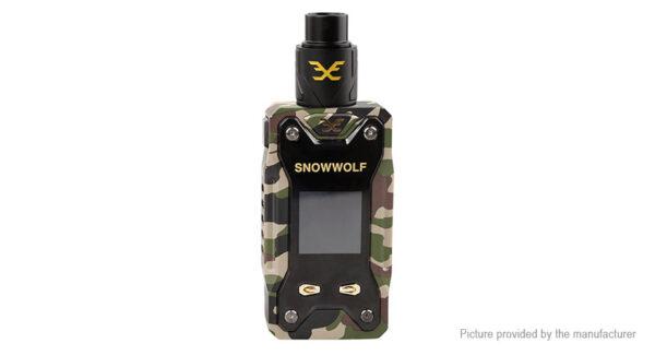 Authentic Sigelei Snowwolf Xfeng 230W TC VW APV Box Mod Kit