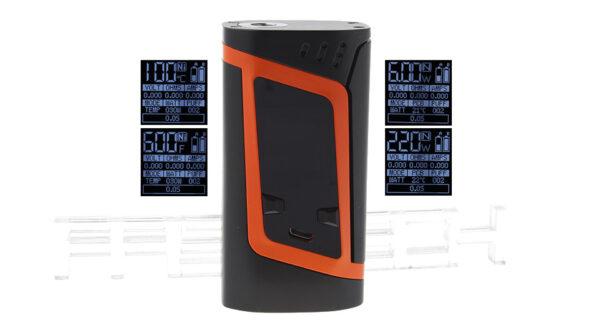 Authentic Smoktech SMOK Alien 220W TC VW APV Box Mod (Orange)