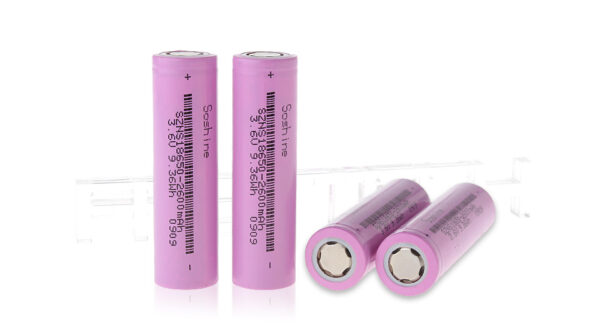Authentic Soshine 18650 3.6V 2600mAh Rechargeable Li-ion Batteries (4-Pack)