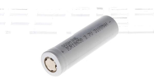 "Authentic Soshine ICR 18650 3.7V ""3100mAh"" Rechargeable Li-ion Batteries (4-Pack)"