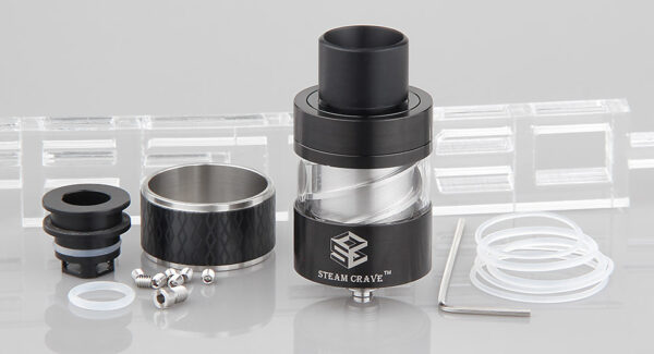 Authentic Steam Crave Aromamizer V-RDA Rebuildable Dripping Atomizer
