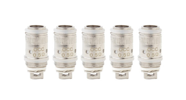 Authentic Subego Clearomizer Replacement OCC Coil Head (5-Pack)