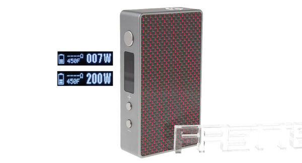 Authentic Teslacigs Metal 200W TC Temperature Control Variable Wattage VW APV Box Mod