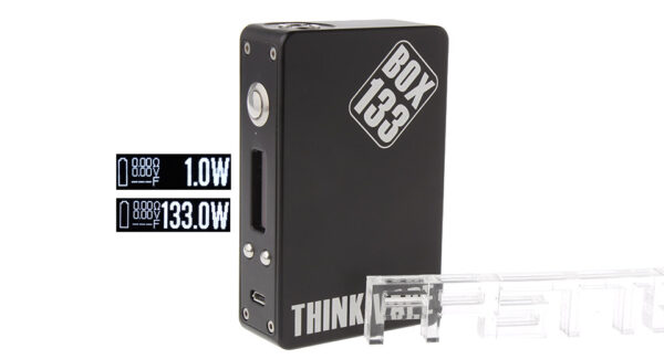 Authentic Think Vape BOX133 133W TC VW APV Box Mod