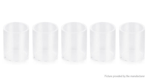 Authentic Uwell Crown 3 Mini Replacement Glass Tank (5-Pack)