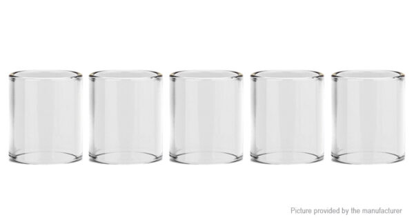 Authentic Uwell Crown 3 Replacement Glass Tank (5-Pack)