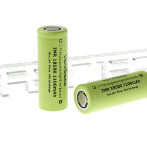 Authentic VAPPOWER IMR 18500 3.7V 1100mAh Rechargeable Li-Ion Batteries (2-Pack)