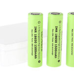 "Authentic VAPPOWER IMR 18650 3.7V ""1500""mAh Rechargeable Li-Ion Batteries (4-Pack)"