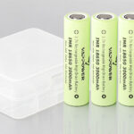 "Authentic VAPPOWER IMR 18650 3.7V ""3000""mAh Rechargeable Li-ion Batteries (4-Pack)"