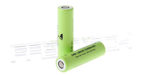 Authentic VAPPOWER IMR 18650 3.7V 3200mAh Rechargeable Li-Ion Batteries (2-Pack)