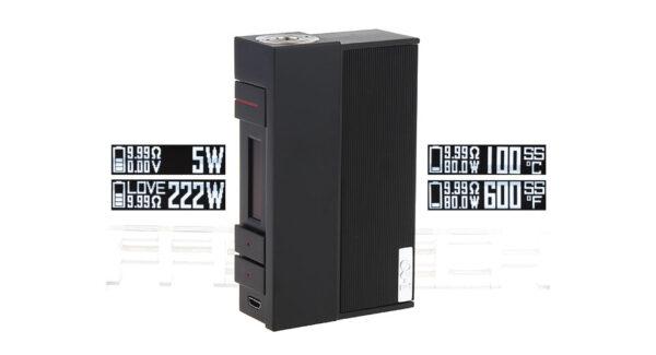 Authentic VOOPOO Alpha I 222W TC VW APV Box Mod