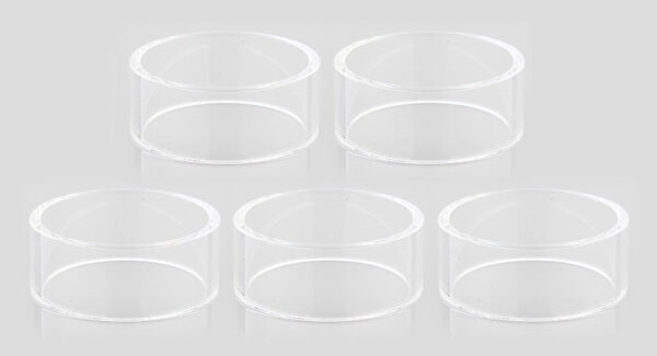 Authentic Vapefly Mesh Plus RDTA Replacement Glass Tank (5-Pack)