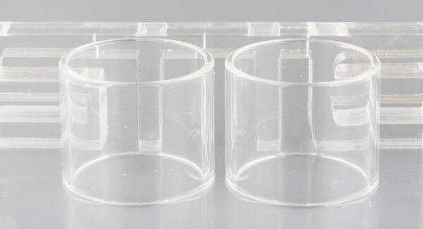 Authentic Vapesoon Replacement Glass Tank for Horizon Falcon King (2-Pack)