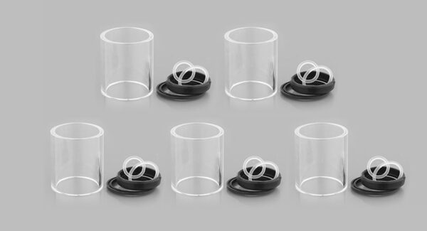 Authentic Vaporesso Drizzle Replacement Glass Tank (5-Pack)