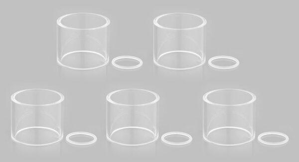 Authentic Vaporesso Estoc Replacement Glass Tank (5-Pack)