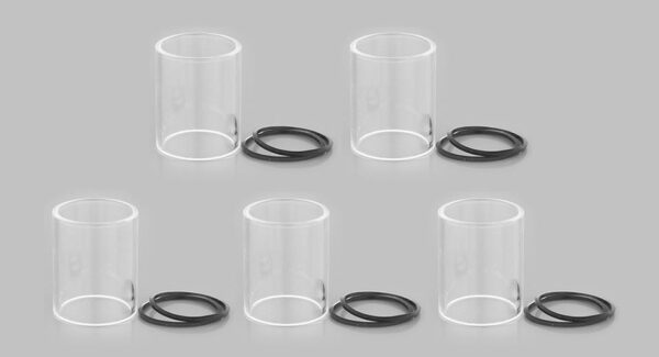 Authentic Vaporesso Gemini RTA Replacement Glass Tank (5-Pack)