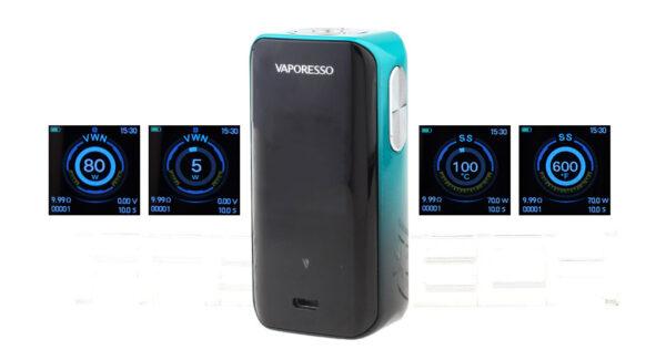 Authentic Vaporesso Luxe Nano 80W 2500mAh VW TC APV Box Mod