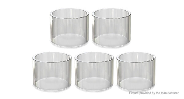 Authentic Vaporesso NRG Replacement Glass Tank (5-Pack)