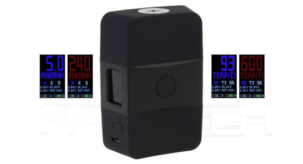 Authentic Votech USV ACR 240W TC VW APV Box Mod