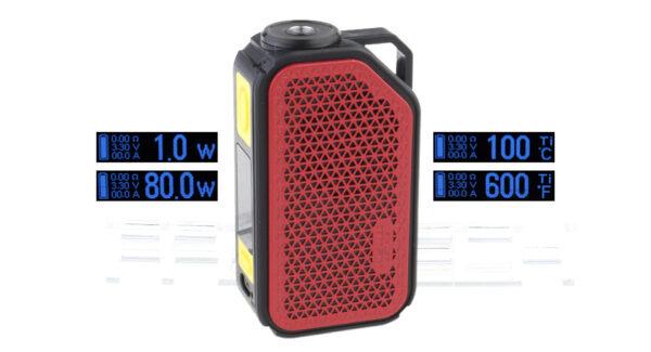 Authentic Wismec ACTIVE 80W 2100mAh TC VW APV Box Mod