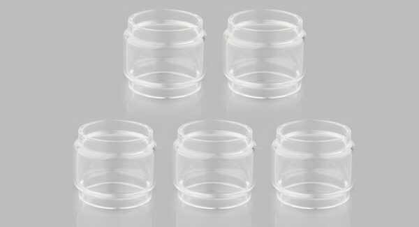 Authentic Wismec Bellerophon RTA Replacement Glass Tank (5-Pack)