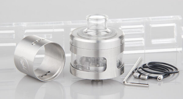 Authentic Wismec Inde Duo RDA Rebuildable Dripping Atomizer