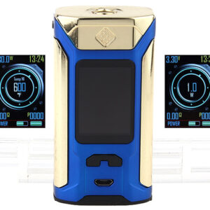 Authentic Wismec Sinuous RAVAGE230 230W TC VW APV Box Mod