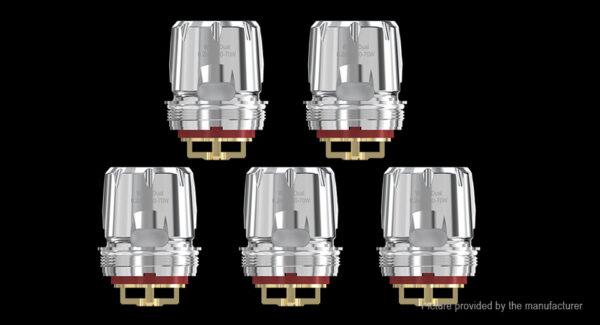 Authentic Wismec Trough Replacement WT02 Dual Coil Head (5-Pack)