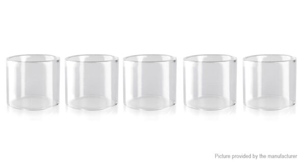 Authentic Wotofo The Troll RTA Replacement Glass Tank (5-Pack)