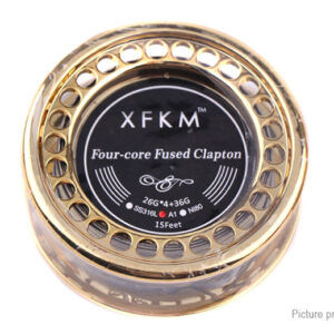 Authentic XFKM Kanthal A1 Four-core Fused Clapton Heating Wire